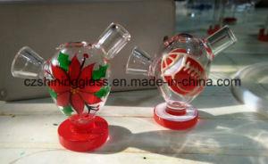Colorful Flower Eggs Shape Water-Drop Martian Glass Bubbler pictures & photos