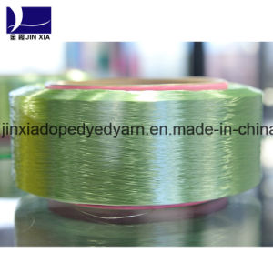 FDY Polyester Yarn 300d/288f Micro Filament Dope Dyed pictures & photos