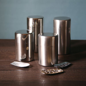 The Large Capacity Airtight Tins with Inner Lid Tea Tins pictures & photos