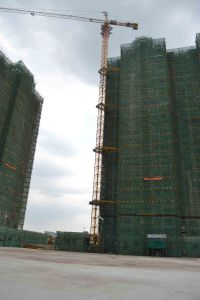 56m Jib Length Good Quality Construction Building Equipment Tower Crane pictures & photos