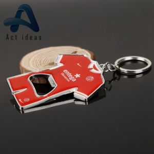 Promotional Plastic Beer Bottle Shaped Beer Opener with Advertising Gifts pictures & photos