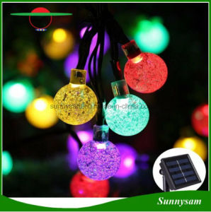 30LED Solar Hanging Decorative Balls Light Waterproof Outdoor Garden Tree Fairy Solar Light pictures & photos
