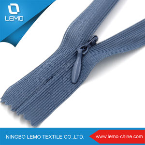 Lemo 3# Cheap Stock Nylon Reverse Invisible Zipper pictures & photos