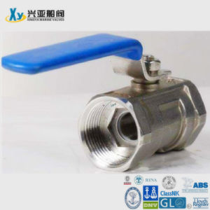 Stainless Steel 2PC Internal Thread Ball Valve pictures & photos