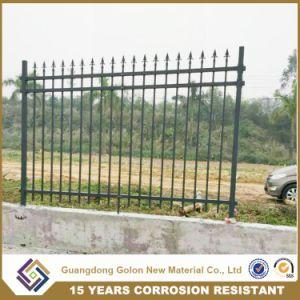 Power Coated Decorative Garden Border Cast Aluminum Metal Garden Fence