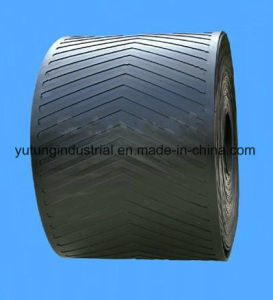 Cotton Fabric Ep Nylon Pattern Oil Resistant Conveyor Belt pictures & photos