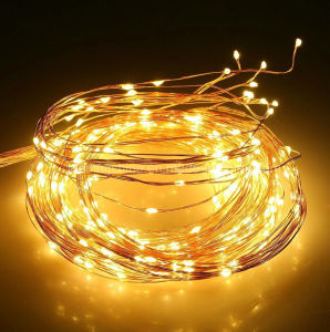 160 LEDs Flexible Bendable Micro Copper Wire 8 Branch String Xmas Fairy Lights pictures & photos