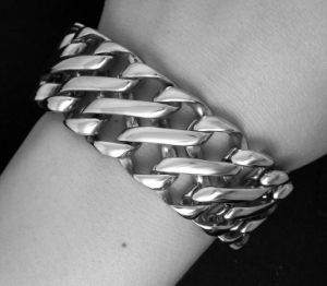 Classic Punk Style ID Bracelets Stainless Jewelry Distortion Free for Men pictures & photos