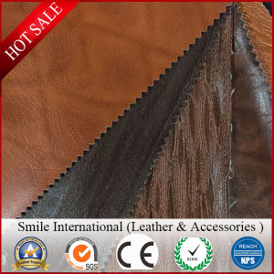 New Design High Quality Durable PVC Vinyl Artificial Leather for Car Seat Cover pictures & photos
