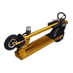 2017 New Fashion Mini Electric Folding Scooter with LED Light pictures & photos