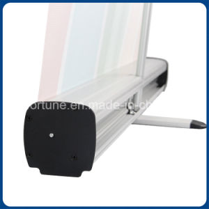 High Quality 2m Single Foot Display Aluminum Roll up Stand pictures & photos