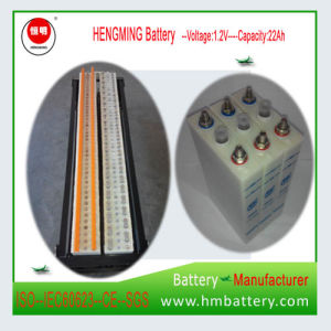 Hengming Pocket Type Ni-CD Rechargeable Battery 22ah for UPS pictures & photos