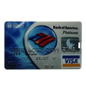 Waterproof U Disk Flash Card 32GB/16GB/8GB Bank Credit Card Shape USB Flash Drive Pen Drive Banknote Memory Flash Stick pictures & photos