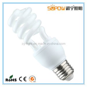 Half Spiral 13W T3 CFL Light Energy Saving Lamp pictures & photos