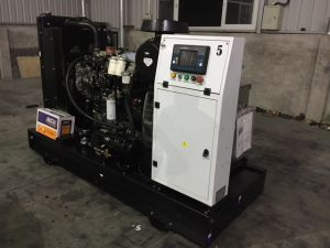 Open Diesel Generator Sets with Perkins Engine and Leroy Somer Alternator pictures & photos