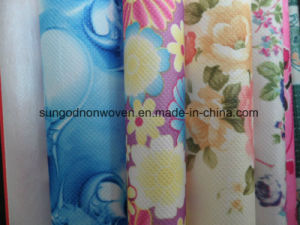 Laminated Non-Woven Fabric for Shopping Bag with Printing pictures & photos