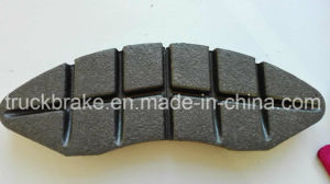 Railway/Subway Disc Brake Pad Powder-Metallurgy Speed From 200 to 250km/H pictures & photos