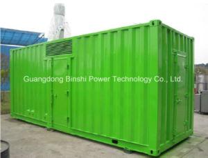 600kw Super Quiet Canopy Silent Diesel Soundproof Generator Set pictures & photos