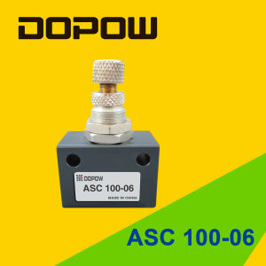 """Air Regulating Valve Asc100-06 Pneumatic Flow Control Valve 1/8"""" pictures & photos"""