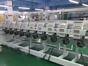 Wonyo 10 Heads Computer Embroidery Machine Computerized for Cap, T-Shirt and Flat Embroidery Best Prices pictures & photos