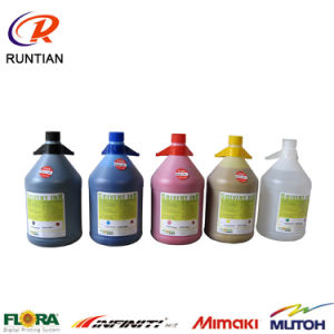 4L/Bottle Solvent Ink Solvent Printing Ink for Flora Spectra Polaris 512 15pl Print Head pictures & photos