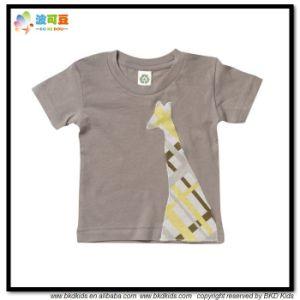 Round Neck Children Wear Custom Size Children Shirts pictures & photos