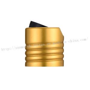 24/410 Aluminum Gold Threading Disc Caps pictures & photos