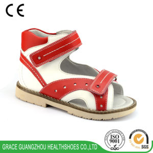 Grace Health Shoes Orthotic Sandal with Thomas Heel pictures & photos