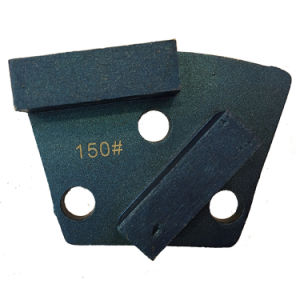 Diamond Tool Concrete Hard Grinding Shoe Trapezoid Grinding Blade pictures & photos