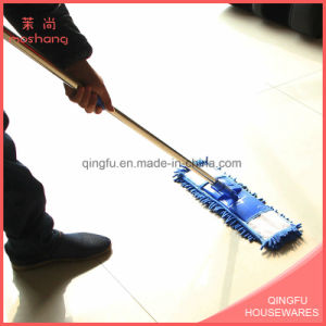 Telescopic Chenille Floor Cleaning Flat Mop pictures & photos