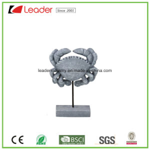 Decorative Best-Seller Resin Crab Statues with Stand for Home Decoration pictures & photos