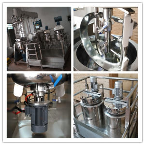 Hot Sell Vacuum Homogenizing Mixing Emulsifier Petroleum Jelly Making Machine pictures & photos