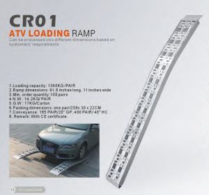 Car Loading Aluminium Ramp with Ce pictures & photos