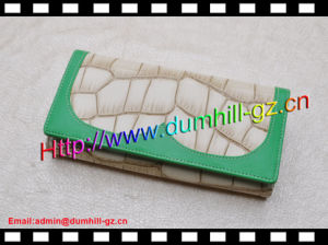 PU Fashion Womens Money Clip Wallet pictures & photos