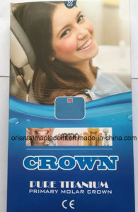 Ce Aprroved Pure Titanium Dental Primary Molar Crown for Adults pictures & photos