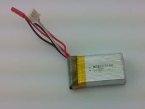 High Rate Battery Power Battery Capacity Lithium Polymer Battery Pl652030 250-300 pictures & photos