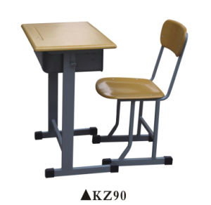 Popular Adjustable School Furniture Study Desk and Chair Set pictures & photos