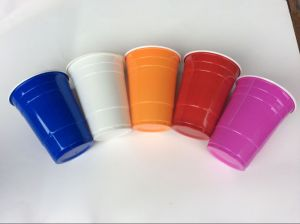 New Design Hot Selling Colourful Plastic Cups pictures & photos