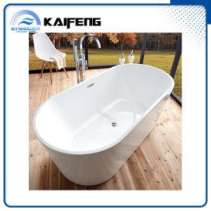 Ellipse Acrylic Plain Bathtub (KF-715B) pictures & photos