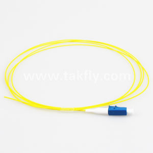 1m LC Upc Single Mode Fiber Optic Pigtail pictures & photos