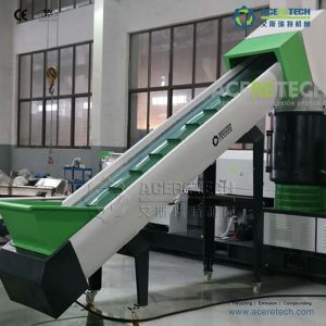 Two-Stgae Plastic Extruder for Woven Bags Recycling Pelletizing pictures & photos