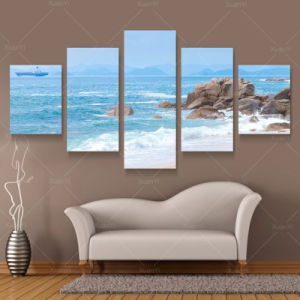 Dropship Cheap Natural Scenery Canvas Printing Art with Photos pictures & photos