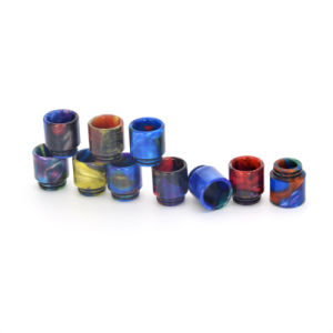 Vivismoke Newest Wholesale Aurora Color Resin Drip Tips for Tfv8 810 pictures & photos