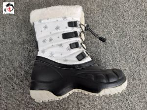 Three Colors of Fbabric Winter Boots pictures & photos
