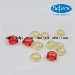 OEM&ODM Clear Yellow Liquid Detergent Pod, Pvoh Laundry Liquid Detergent Capsule Pods pictures & photos
