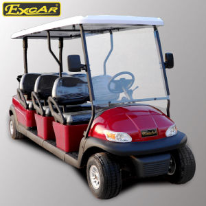 6 Seater Electric Sightseeing Car for Tourist Resort pictures & photos