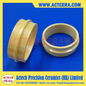 Customized Machining Yellow Zirconia Wire Drawing Ring/Ceramic Capstan pictures & photos