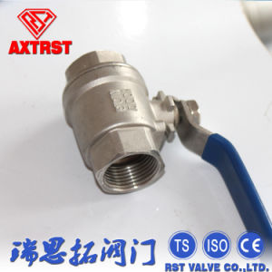 Two Piece Type Stainless Steel Ball Valve Pn63 pictures & photos
