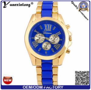 Yxl-326 2016 Men′s Quartz Watch with Blue Dial Chronograph Stainless Steel Wholesale Men Watches pictures & photos