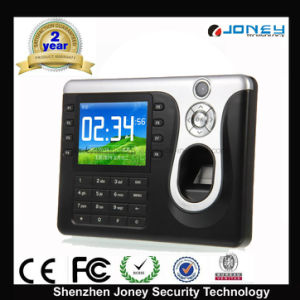 Network ID Card Fingerprint Time Attendance with P2p Function pictures & photos